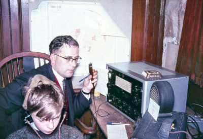 G3MVH jamboree station 1963
