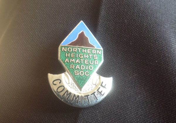 Committee badge from the 1970s