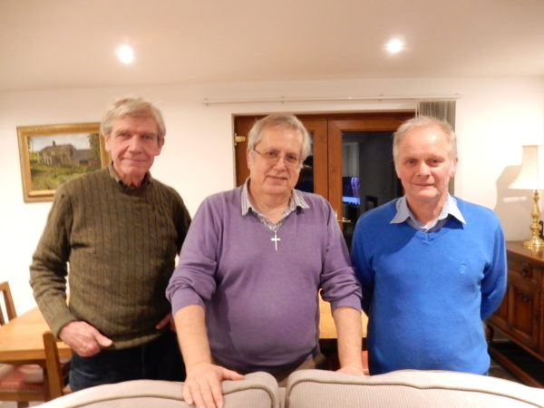 Mike G3UBI, Richard G3UGF and Tony G4EFX met up for a ragchew in 2018