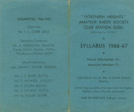 Syllabus 1966-67